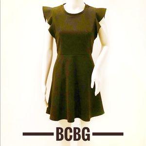 Bcbg generation charcoal grey dress size 4